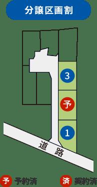 分譲区画割