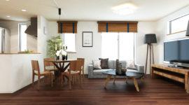 家具付きモデルハウス完成見学会&販売会開催。