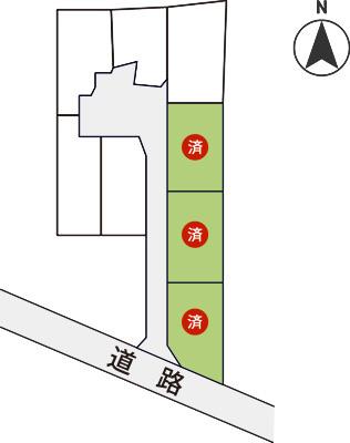 分譲区画図